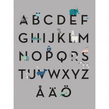 Kids Poster - ABC