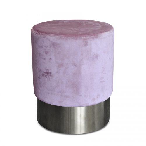 puff pretty light pink silver
